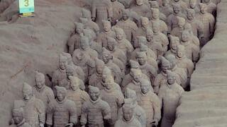 Zaman Yolcusu Keşifler: Çin Seddi'nden Şian'a